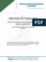 Proyecto de Capacitacion Region Amazonía