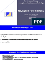Advance Filter Design Report Group3