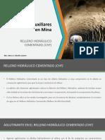 3.0 Relleno Hidraulico Cementado - 2017-2