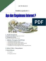 Lks Tik Kelas Ix Internet