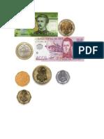 monedas billetes