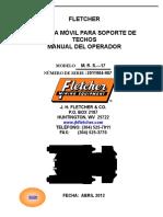 Manual Operador MRS (Soporte Movil para Techos) FLETCHER MINING EQUIPMENT