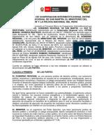 2016convenio Marco de Cooperacion Interinstitucional GRSM, MININ y POLICIA NACIONAL DEL PERÚ