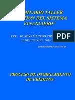 Procesos Para Otorgamiento Creditos