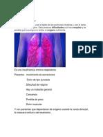 La Fibrosis Pulmonar