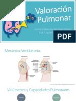 Valoración Pulmonar