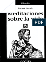 Nozick Robert - Meditaciones Sobre La Vida.pdf