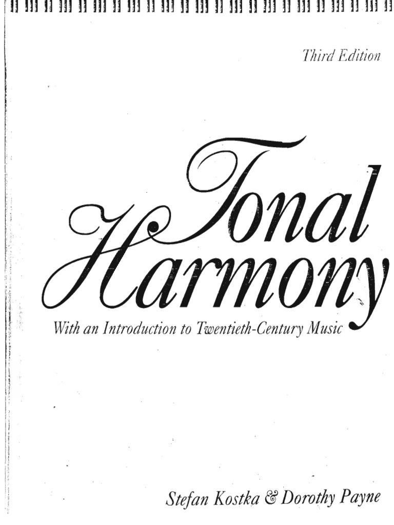 Tonal harmony stefan kostka fandeluxe Gallery