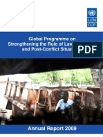 Global Programme on Strengthening the Rule of Law in Conflict and Post-Conflict Situations