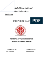 210684402 Property Law Assignment 2