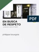 Bourgois, Philippe - En Busca de Respeto [33792] (r1.0 Primo)