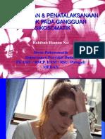 Penanganan &Penatalaksanaan Holistik Pada Gangguan Psikosoma