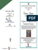 2017 -1 Nov - Vespers -St Kosmas & St Damianos