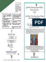 2017 - 1 Nov - St Kosmas & St Damianos