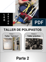 Taller de Polipastos - Presentación Parte 2 (Sergio Renilla 2015)