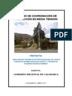 Estudio de Coordinacion de Proteccion - Huambocancha Baja