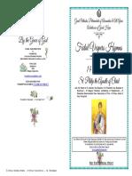 2017 -13-14 NOV- VESPERS-ST Philip the Apostle