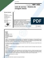 NBR 14605 - 2000 - Posto de Servico - Sistema de Drenagem Oleosa