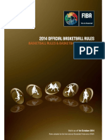 Official Basketball Rules 2014 Y