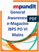 Current Affairs e Magazine for IBPS PO Mains Exampundit Locked Copy