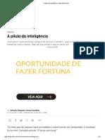 A pílula da inteligência _ Superinteressante.pdf