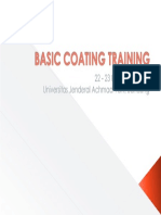Basic Coating Training
