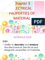(3) Electrical Properties of Material