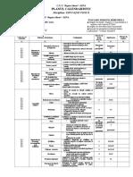 Clasa II - EFS - Planul CS 2016_2017