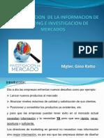 3.- Administracion de La Informacion de Marketing e Investigacion de Mercados