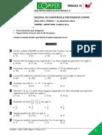 Subiect Si Barem Matematica EtapaI ClasaVI 12-13