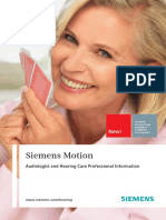 Siemens Hearing Aids family - MOTION