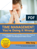 Time Management - You'Re Doing It Wrong