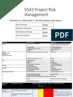 Panama - Risk Register Presentation