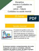 T4S23 - Cuidados Na Saúde Mental