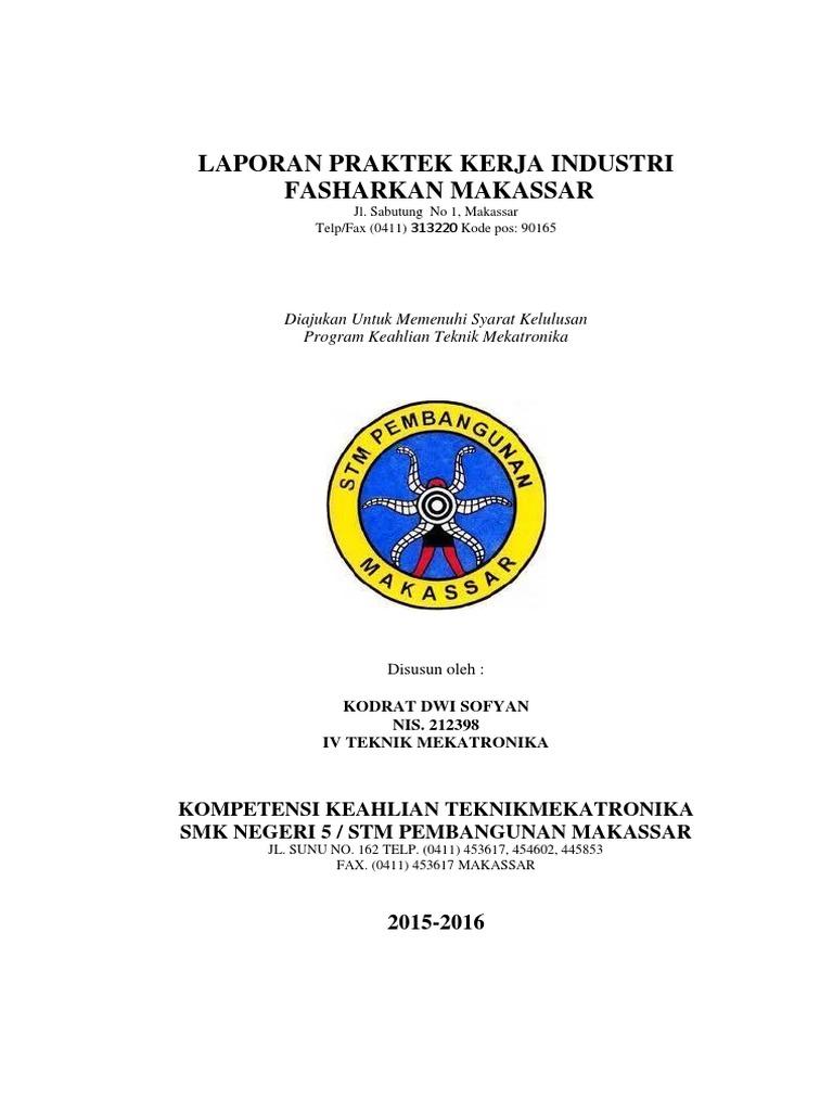 Contoh Laporan Pkl Smk Jurusan Bangunan Kumpulan Contoh Laporan