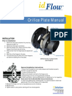 Orifice Plate Manual