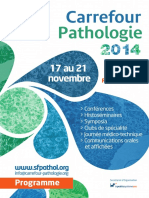 Carrefour Pathologie 2014