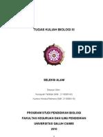 KUMORO HENDRA ,Nur Asiyah Seleksi Alam (Tgs UTS) t