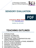 Sensory Evaluation 2017-2018