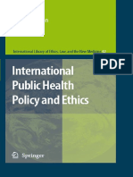 Michael Boylan International Public Health Policy and Ethics International Library of Ethics, Law, And the New Medicine(1)
