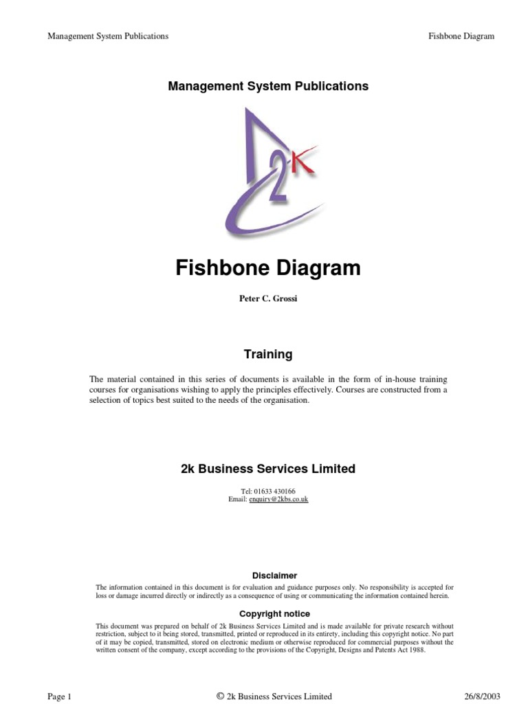 Fishbone diagram copyright causality ccuart Images