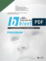 Bioetica2017 Program