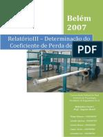 Relatorio Hidraulica III