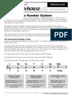 Nashville Number System PDF