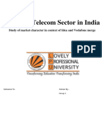 research on telecom sector of india