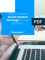 Falcon.io How to Create a Social Content Strategy Handbook HBH