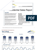 July 2010 Market Statistics - Austin Real Estate