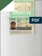 New Passport of Mohammed Omar