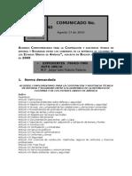 Acuerdo de Cooperación Colombia-USA. Corte Constitucional. Auto 288-10