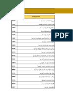 List of Contractors in Dubai English